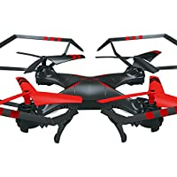 Ikevan A25c 6-Axis Gyro RC 2.0MP HD Camera Quadcopter RTF Flying Toys Helicopter (Red)