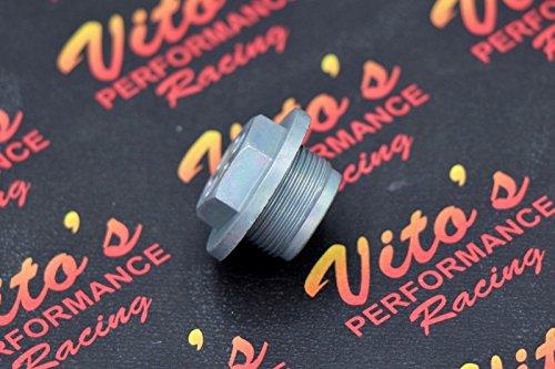 Fuel Bowl Plug (Vito's fuel bowl drain PLUG Keihin PWK PJ 33mm 35mm 38mm 39mm 41mm carburetor)