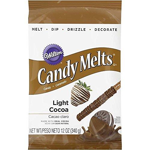 Wilton Light Candy Cocoa Melts, 12 oz. bag