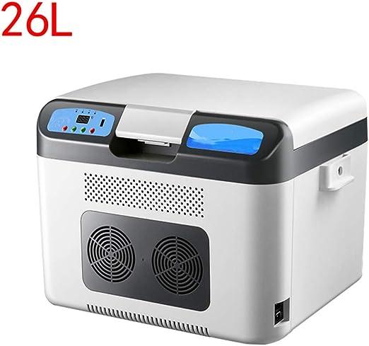Mini Refrigerador De Auto RefrigeracióN De Doble NúCleo Congelador ...
