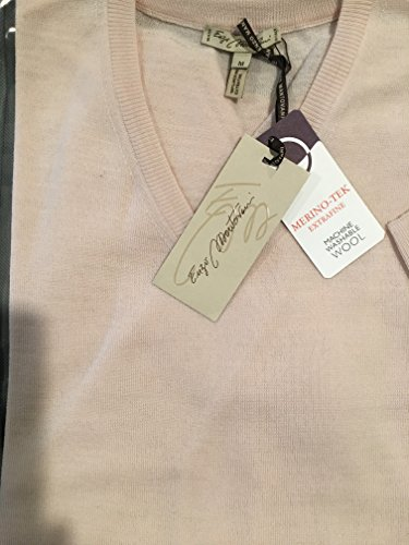 Enzo Mantovani - Men's Merino Wool - Fine Gauge V-Neck Sweater - Made in Italy (Large) by Enzo Mantovani (Image #3)