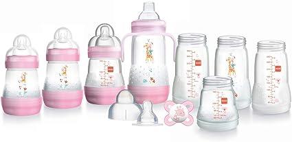 Tommee Tippee 2/x 260/ml Anti-Kolik- Pink 0/m Fl/äschchen mit Slow Flow Sauger