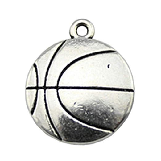 NEWME 12 unids 22x18mm colgantes de baloncesto colgante para la ...