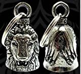 LION Guardian® Bell Motorcycle - Harley Accessory HD Gremlin NEW Riding Bell Key Ring Mod Dyna FXR Custom Triumph Heritage Sportster Chopper 1200 Iron 880 Vulcan Goldwing Honda Yamaha Kawasaki Sport Street Road Warrior