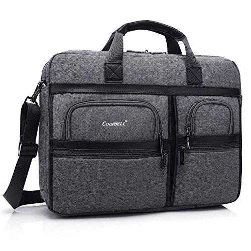 CoolBell 17.3 Inch Laptop Messenger Bag / Durable Busines...