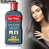 SuperJune 200ml DEXE Anti-Hair Loss Chinese Herbal Hair Growth Shampoo Treatment Liquid