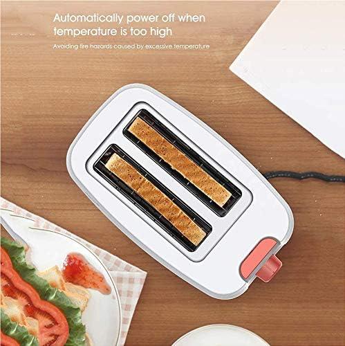 VIVICL Machine à Pain Automatique Ménage Cuisine 2 Fentes en Acier Inoxydable Petit Multifonction Intelligent Grille Pain Machine à Petit Déjeuner Machine de Cuisson Electrique