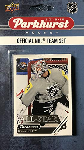 2019 Upper Deck Player - 2018 2019 Upper Deck PARKHURST NHL Hockey Eastern Division All-Star Series 10 Card Set Featuring Alexander Ovechkin, Sidney Crosby, Auston Matthews, Steven Stamkos and 6 Other Players