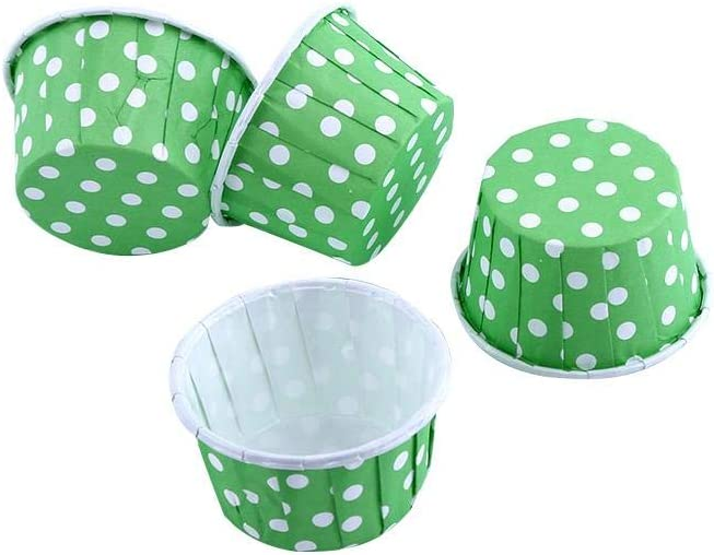 amarillo Zerone 100 unids pastel de papel Cupcake Liner Case Wrapper Muffin taza para hornear para la boda del partido
