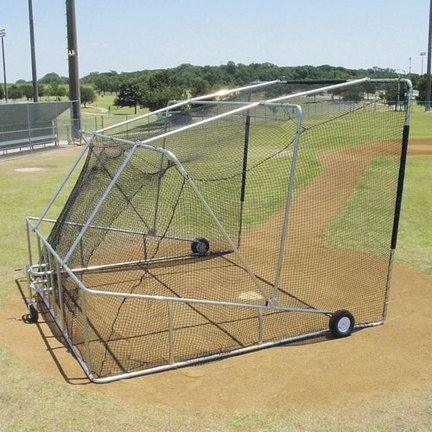 Foldable Backstop Replacement Net by BSN Sports