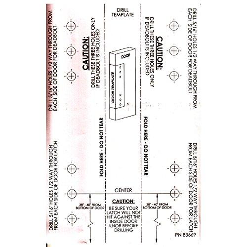 Storm Door Hardware Lever 2 Piece Surface Mount Oil Rubbed Bronze 3/4 Inch Thick Door by Hardware Specitalies, Inc (Image #4)