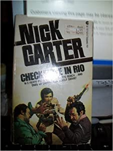 Paperback Checkmate in Rio Killmaster Book