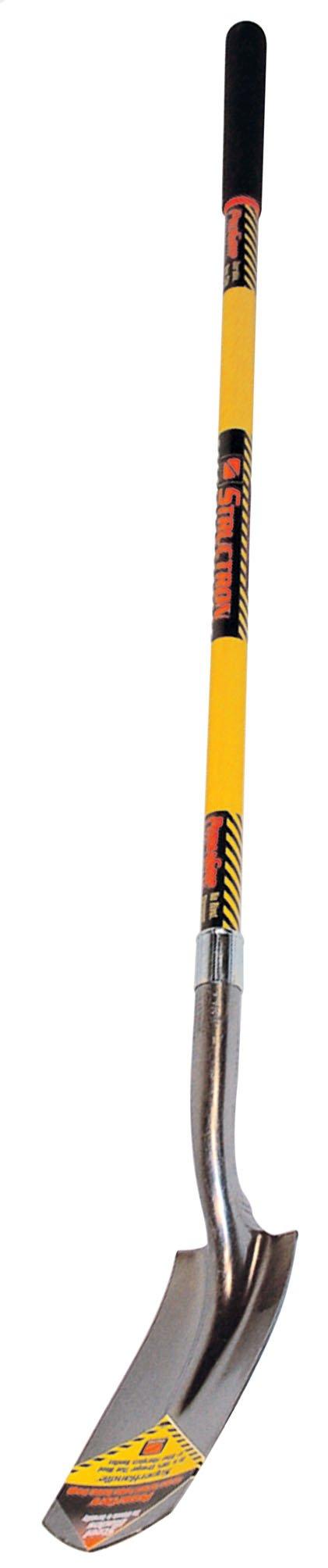 Seymour S702 48-Inch Fiberglass Handle Trenching Shovel