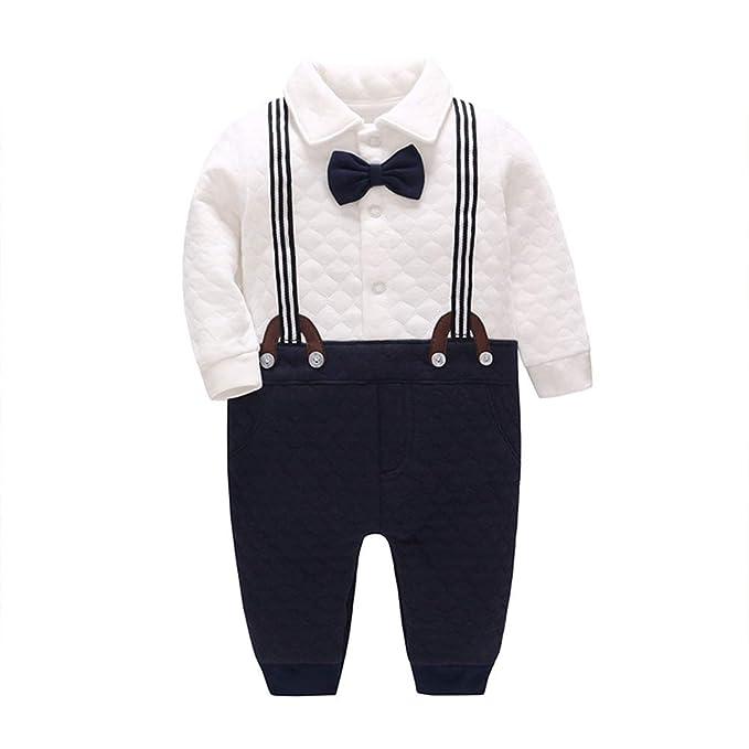 Amazon.com: DANROL - Pelele de algodón grueso para bebés y ...