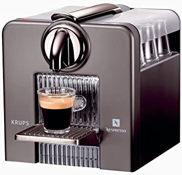 Krups Le Cube Titan XN5005, Plata, 1260 W, 226 x 230 x 230 mm - Máquina de café: Amazon.es: Hogar