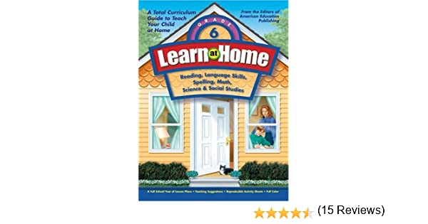 Learn at Home: Grade 6: American Education: 9781561895144: Amazon ...