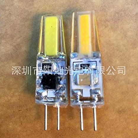 NIKU-Cob Lámpara de silicona G4 1505 6W 220V polo G4 Lámpara LED ...