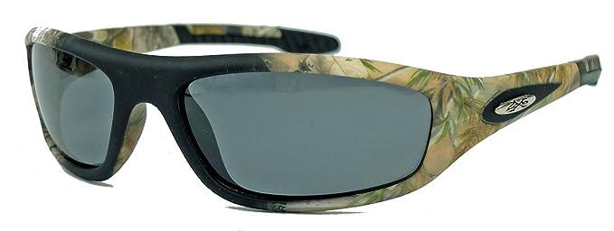 Polarisierte Herren Sonnenbrille Sportbrille Woodland Camo XP25 (Camouflage Stone / Smoke) 2A7tRxg