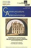 Communications in Asteroseismology Volume 149 2008 : Festkolloquium und Fachtagung 250 Jahre Universitatssternwarte Wien Konferenzbeitrage/Proceedings, Firneis, M. G. and Kerschbaum, F., 3700139152