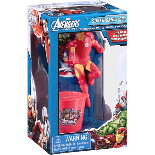 Marvel Avengers ~ Iron Man Toothbrush Set by Marvel