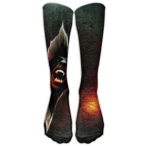 Long Dress Socks Over The Calf Tube Compression Socks Horror Man Training Football Athletic Sports Socks