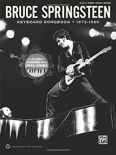 Bruce Springsteen -- Keyboard Songbook 1973-1980: Piano/Vocal/Guitar by Bruce Springsteen (2011-06-01) (Springsteen Songbook Bruce)