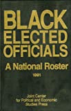 Black Elected Officials 1991, , 0941410803