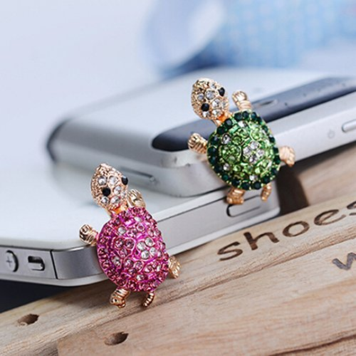 Meiyuan Dust Caps for Phone, Earphone Jack Accessories Dust Plug Lovely Decor for Iphone 6s 6 Ipad Samsung Galaxy s7 s6 note5 LG Other Cellphone 3.5mm Ear Jack (2 Pack) by Meiyuan (Image #3)
