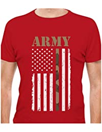"<span class=""a-offscreen"">[Sponsored]</span>4th of July Big USA Army Flag - Gift for Soldiers, Veterans Military T-Shirt"