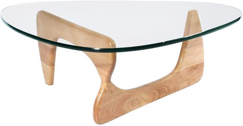 多色で利用可能なコーヒーテーブル強化ガラス (色 : Natural)