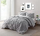 Byourbed Alloy Pin Tuck Full Comforter