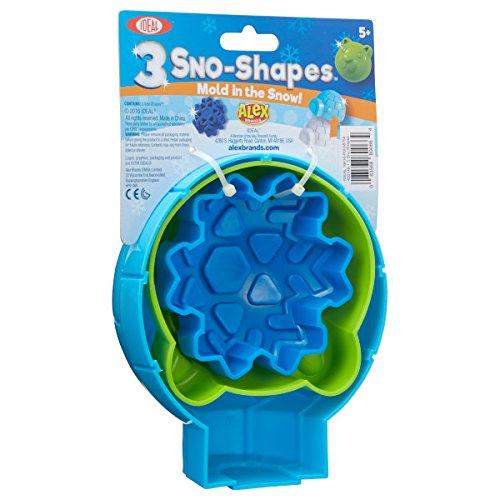 Ideal Sno Toys 3 Sno-Shapes Snow Toys