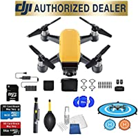DJI Spark Fly More Combo (Sunrise Yellow) Best Accessory Basic Bundle Package Deal