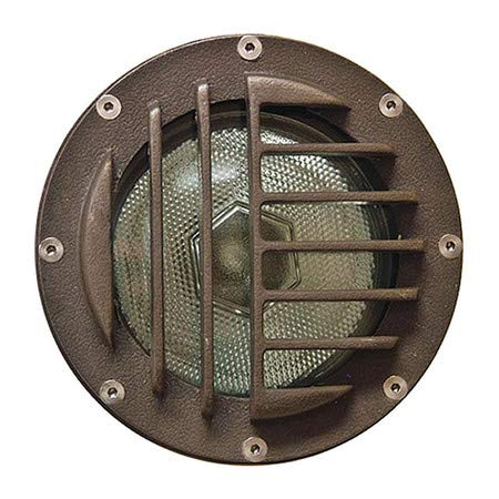 Well Light, 4460, Fberglass, Convex Grill by DABMAR LIGHTING INC