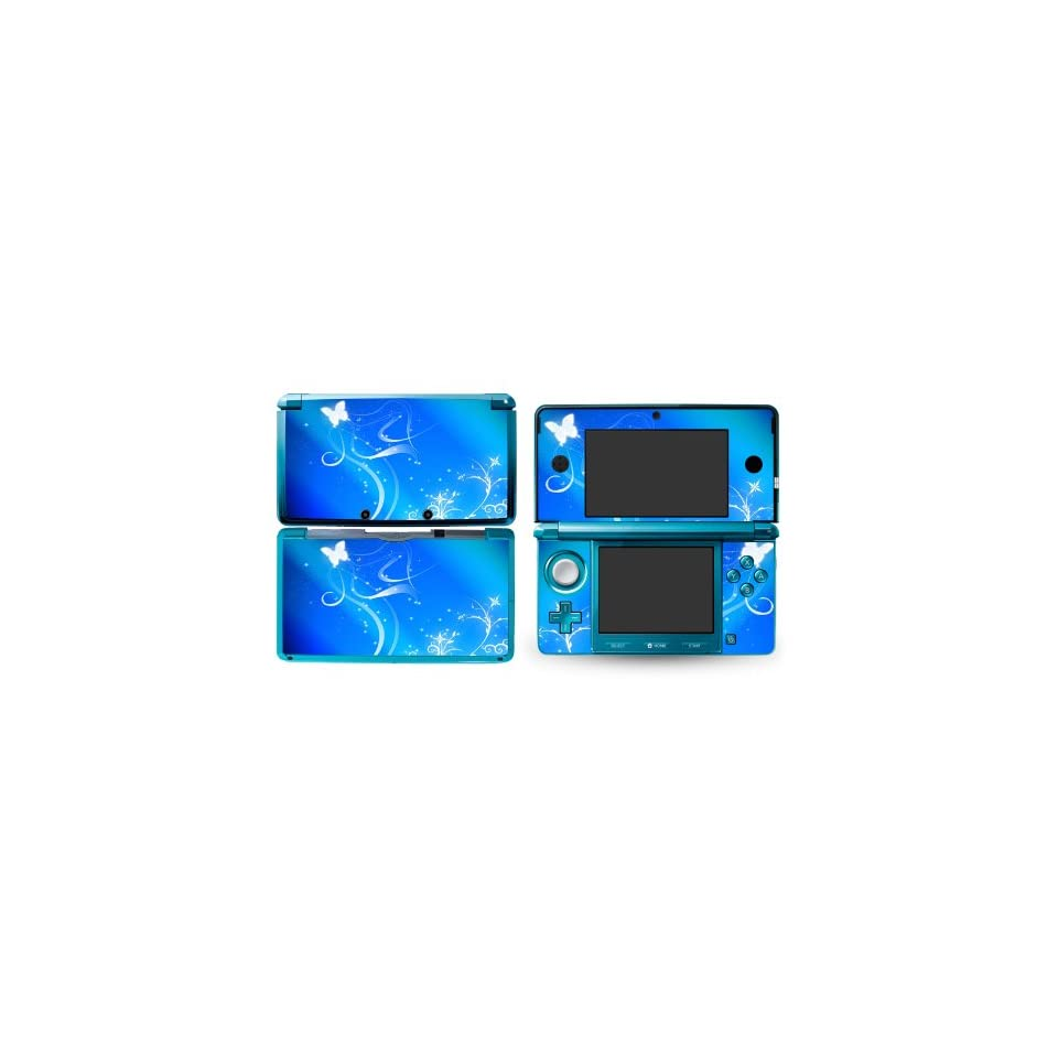 Bundle Monster Nintendo 3ds Vinyl Skin Cover Art Decal Sticker Protector Accessories   Mystical Butterfly