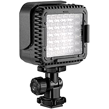 neewer cn lux360 3200k 5600k dimmable led video light lamp for canon nikon camera dv camcorder