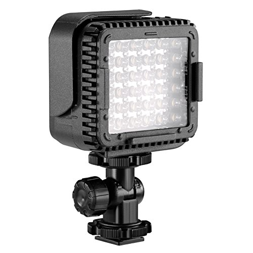 Neewer CN LUX360 3200K 5600K Dimmable Camcorder