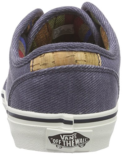 Vans Atwood Deluxe - Zapatillas Niños Azul (washed Twill/navy/marshmallow)