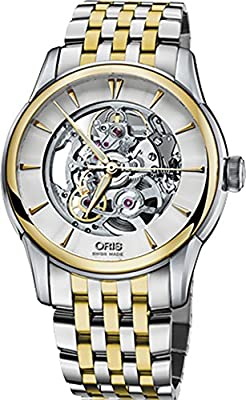 Oris Artelier Skeleton 40.5mm Men's Watch 73476704351MB