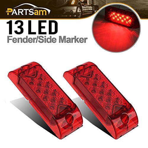 Partsam 2x Red 6