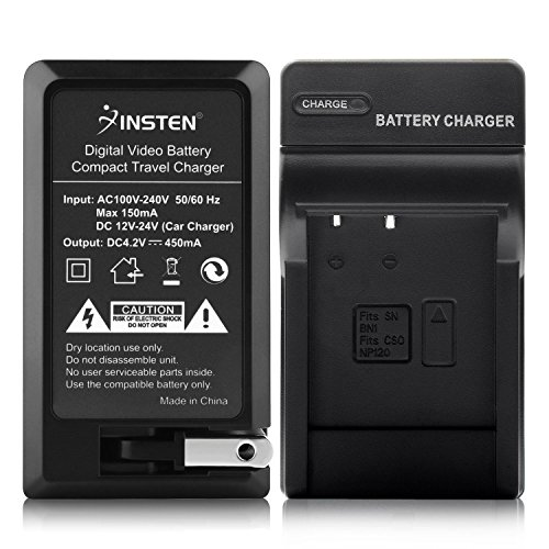 (Insten Compact Battery Charger Set for Sony NP-BN1)