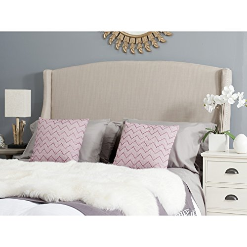 Safavieh Headboard Collection Austin Headboard, Queen, Beige - Austin Headboard