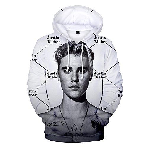 04 Xxs Sweats 3xl 2018 Homme Justin Ctooo Capuche Bieber Mode À vPgcaqRZ