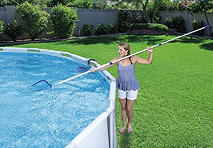 bestway kit de nettoyage piscine hors sol pour piscine. Black Bedroom Furniture Sets. Home Design Ideas