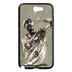 Allen Iverson Samsung Galaxy N2 7100 Cell Phone Case Black Gift pjz003_3352322