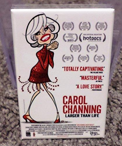Carol Channing Larger Than Life Poster AD 2 x 3 Refrigerator Locker MAGNET