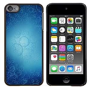 Jordan Colourful Shop - Bubbles Pattern For Apple iPod Touch 6 6th Generation Personalizado negro cubierta de la caja de pl????stico