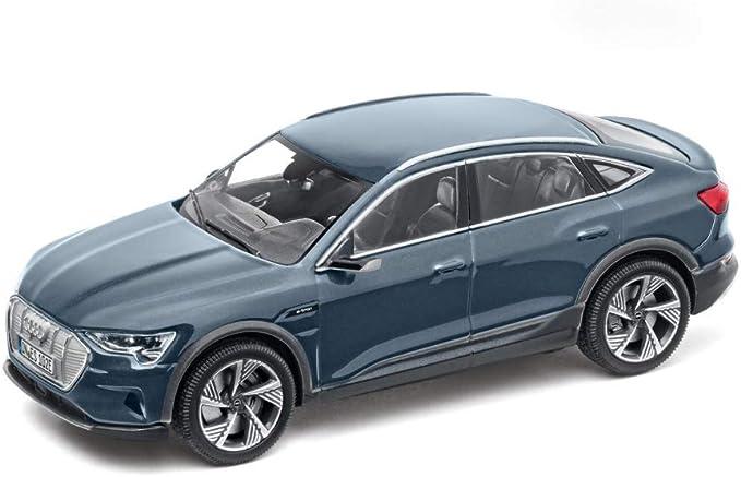 Audi 5012020032 Modellauto E Tron Sportback Modell 1 43 Miniatur Blau Auto