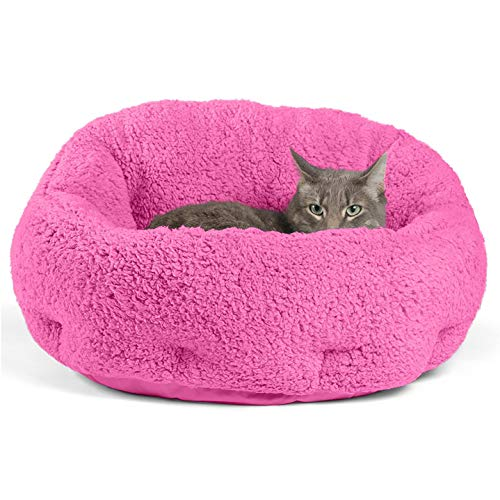 Best Friends by Sheri OrthoComfort Deep Dish Cuddler (20x20x12) – Self-Warming Cat and Dog Bed