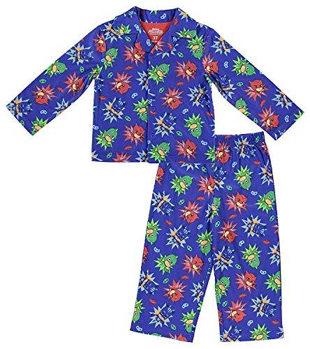 Entertainment One Boys PJ Masks Pajamas - 2-Piece Long Sleeve Pajama Set (Royal Blue, 6) -